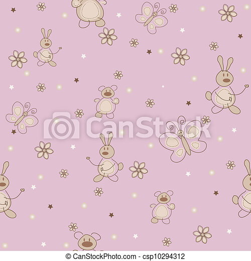 The sample of nurseries wallpaper - csp10294312