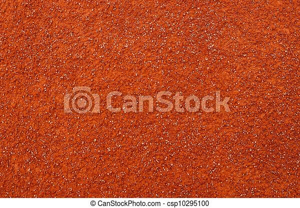 Clay background - Tennis court background