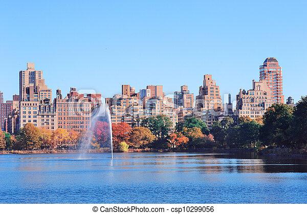 New York City Manhattan Central Park - csp10299056