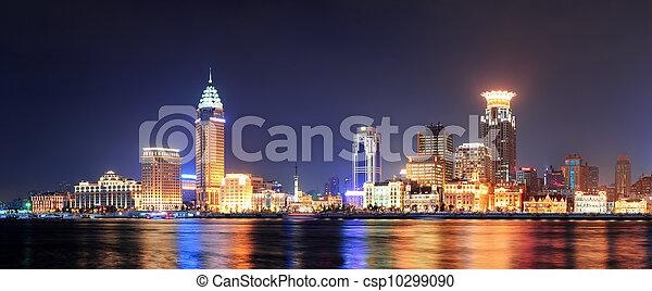 Shanghai historic architecture - csp10299090