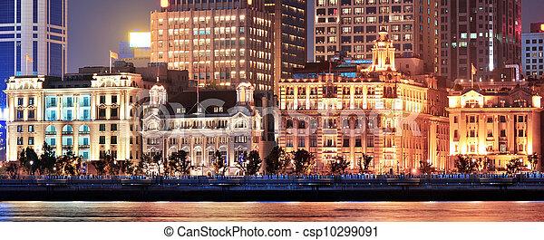 Shanghai historic architecture - csp10299091