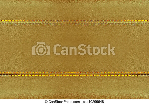 golden leather art - csp10299648