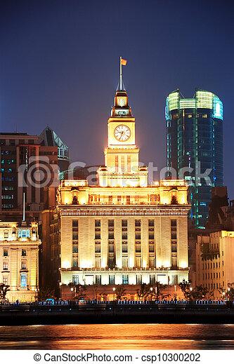 Shanghai historic architecture - csp10300202