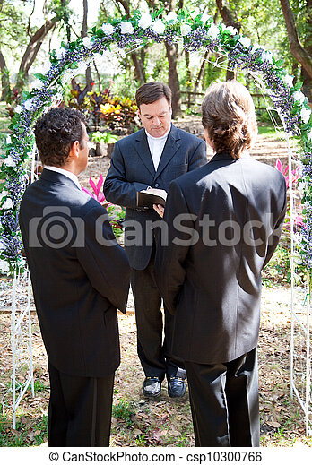 Gay Marriage Ceremony - csp10300766
