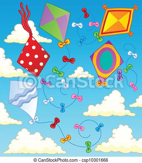 Kites theme image 2 - csp10301666