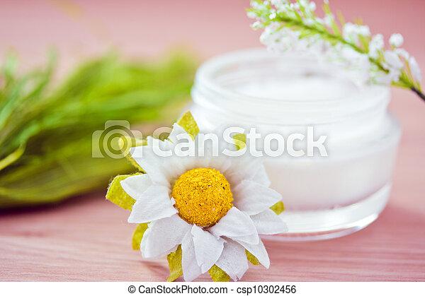 natural spa beauty product, organic cosmetics