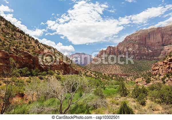Zion national park in Utah - csp10302501