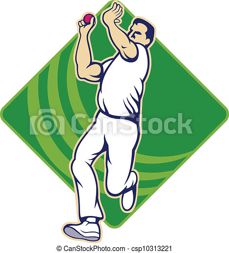 Bowling Cricket Drawing Cricket Bowler Bowling Ball