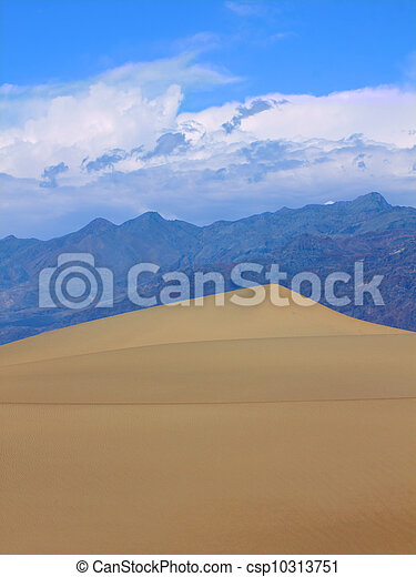 Sand Dunes of Death Valley - csp10313751