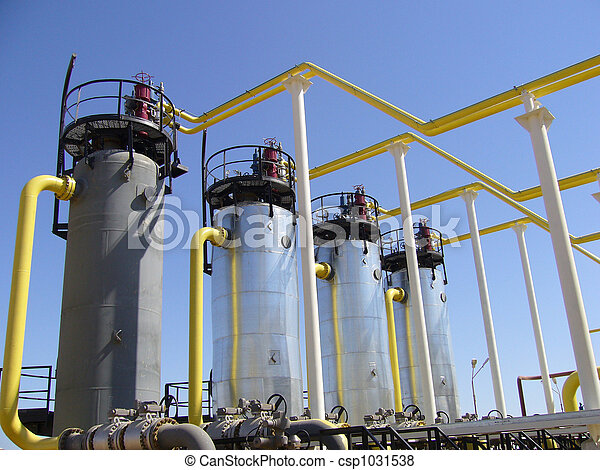Natural Gas Industry  - csp1031538