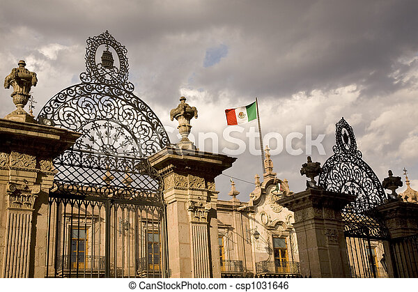 Government Palace Mexico  - csp1031646