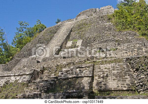 Lamanai Temple Belize