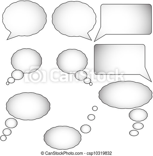 Thought bubbles - csp10319832