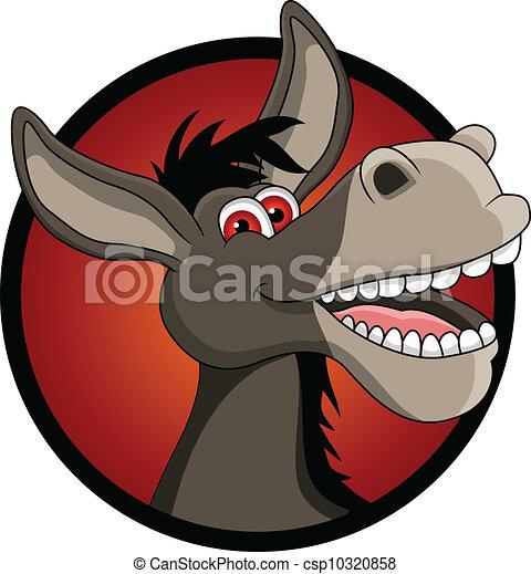 donkey kick clipart