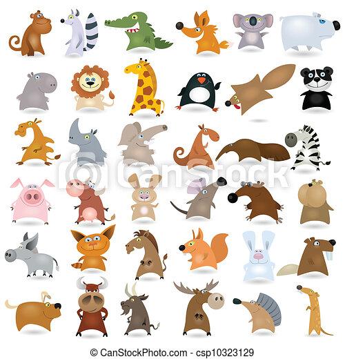Big  cartoon animal - csp10323129