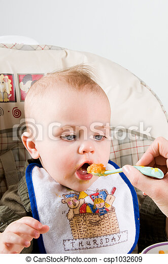 Hungry Baby - csp1032609
