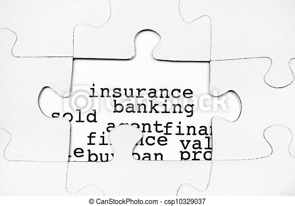 Insurance banking - csp10329037