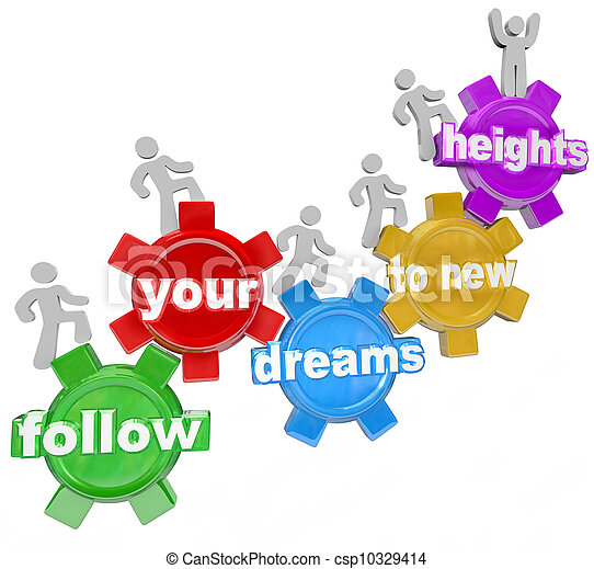 Follow Your Dreams Clipart Follow Your Dreams to New