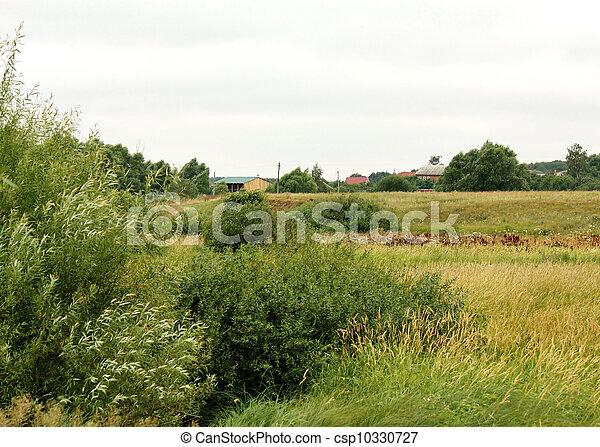 库存照片-乡村, 风景