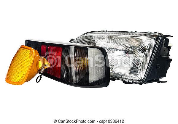 automobile lamps set - csp10336412