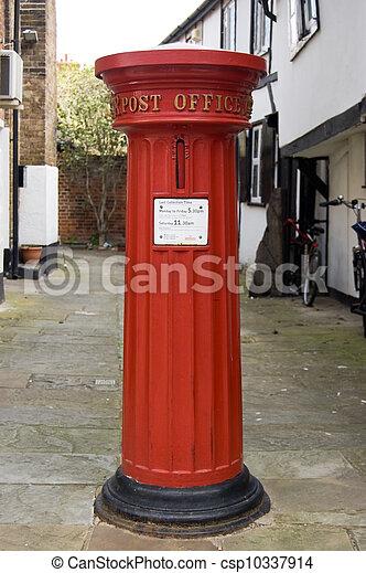 Historic Post Box - csp10337914