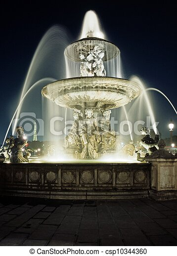 Place de la Concorde, Paris. - csp10344360