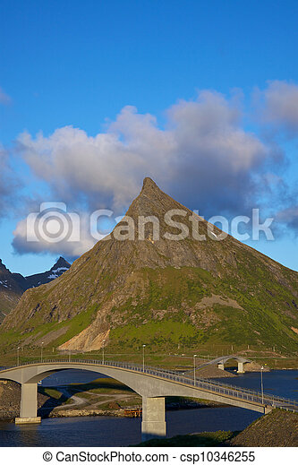 Bridges on Lofoten - csp10346255