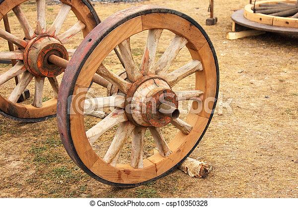 photo de roue r paration vieux charrette bois r paration de csp10350328 recherchez. Black Bedroom Furniture Sets. Home Design Ideas