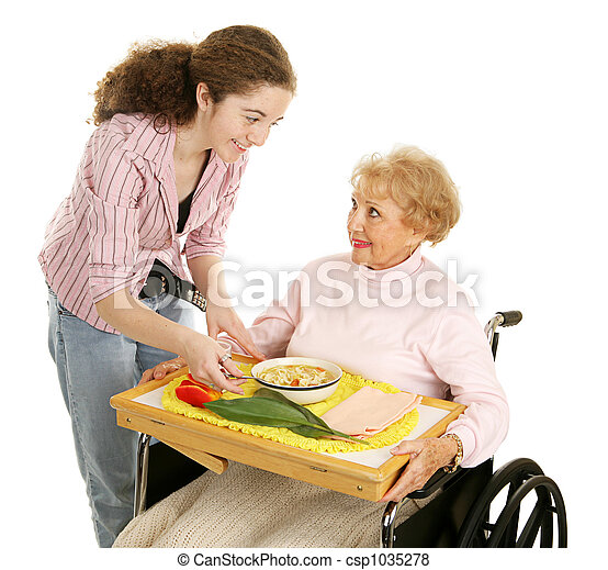 Meals on Wheels - csp1035278