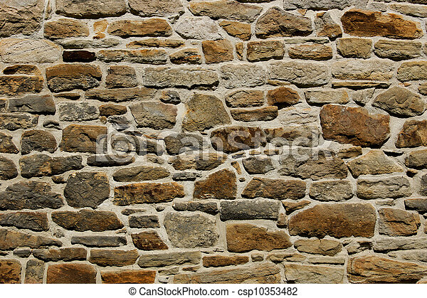 Natural Stone Wall Texture / Background