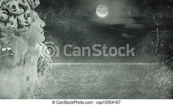 Poetic fantasy background - csp10354167