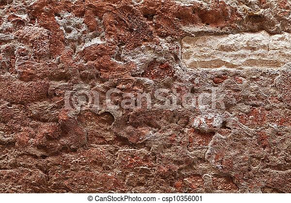 Texture of Venetian wall - csp10356001