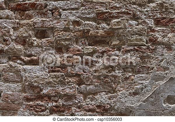 Texture of Venetian wall - csp10356003