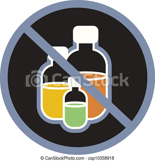 Clipart of A symbol indicating poisonous chemicals csp10358918 ...