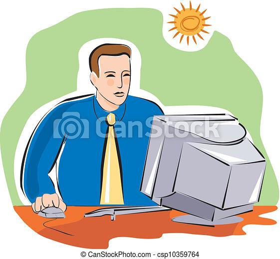 Stock de Ilustracion de hombre de negocios, el suyo ...