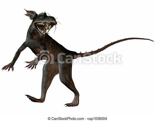 Monster Rat - csp1036004