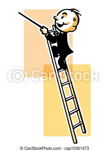 stock de ilustraciones de estilo  conductor  escalera conduction clip art music conductor clipart