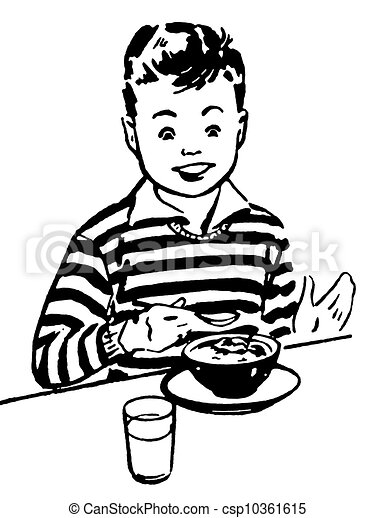Meal Clip Art Black And WhiteMeal Clipart Black And White