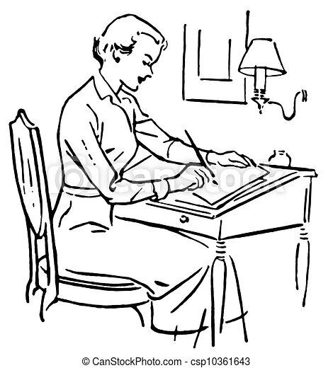 Dessin de a noir blanc version ligne dessin femme for Bureau de dessin