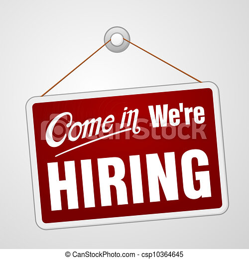 We are Hiring Sign - csp10364645