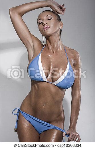Bikini Fashion Model - csp10368334