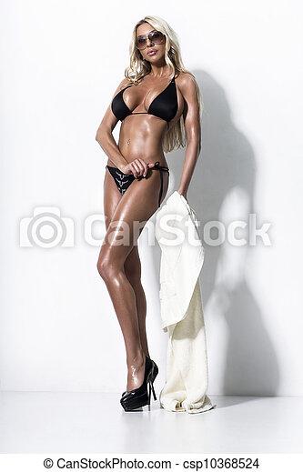 Bikini Fashion Model  - csp10368524