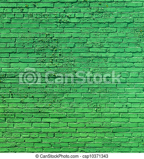 old historic brick wall  - csp10371343