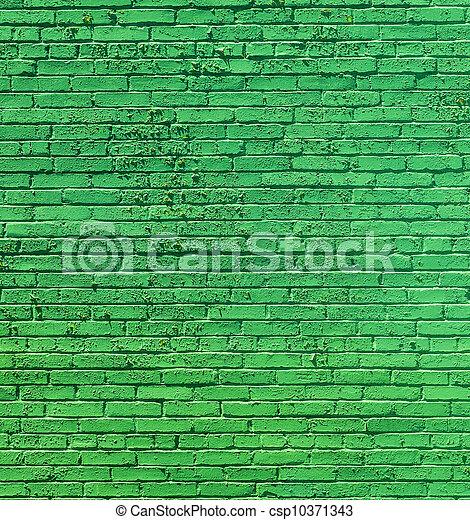 old historic brick wall  - csp10371343