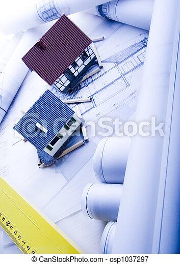 Architecture plan  & home - csp1037297