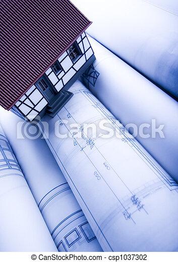Architecture plan  & home - csp1037302