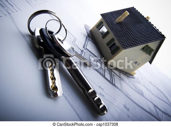 Architecture plan  & home - csp1037308