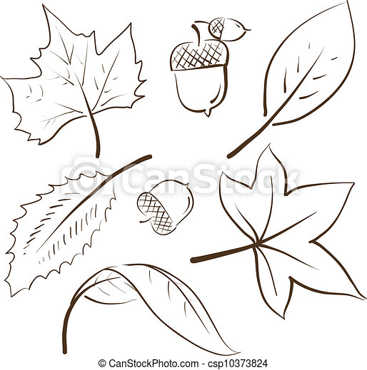 Autumn Scenes Coloring Pages