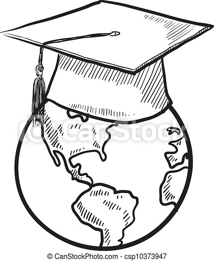 Global Education Vector Royalty Free Vector Eps