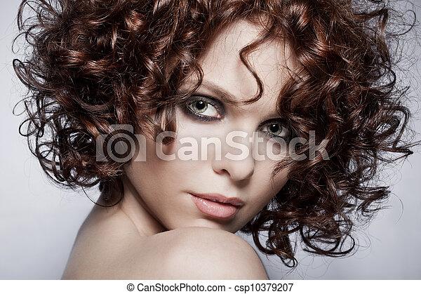 Fashion portrait of sexy woman - csp10379207